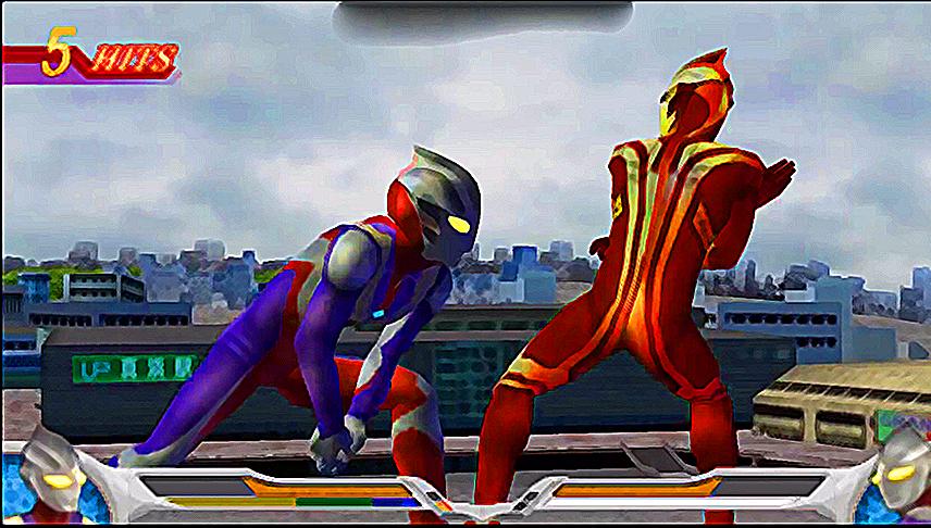 How To Play Ultraman Mebius Screenshot
