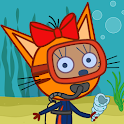 Kid-E-Cats Sea Adventure! Kitty Cat Games for Kids icon