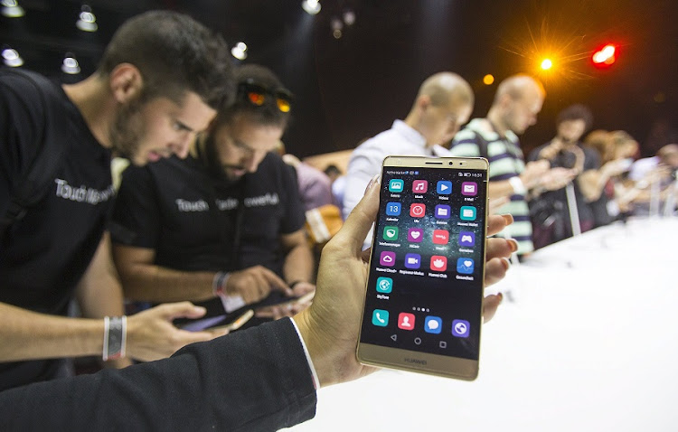 The Huawei Mate S. Picture: REUTERS