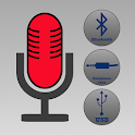 Microphone Plus - Blutooth, Aux Cable, or USB Mic icon