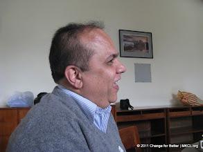 Photo: Mr. Uday Panchpore at CFB meet