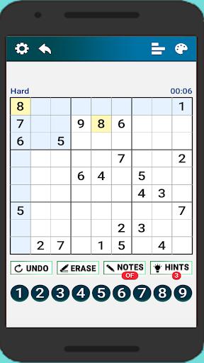 Classic Sudoku : Free Logic Number Puzzle Game apkdebit screenshots 8