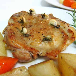Chicken Thigh With Rosemary and Garlic