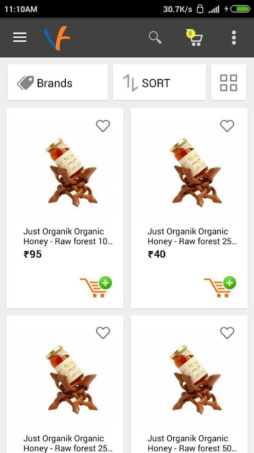 VisionFresh-Organic Food Shop- screenshot