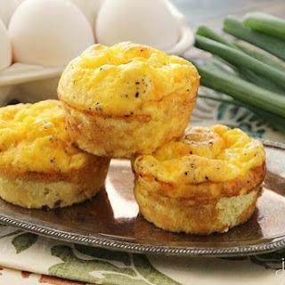 Ham & Cheese Egg Muffins.
