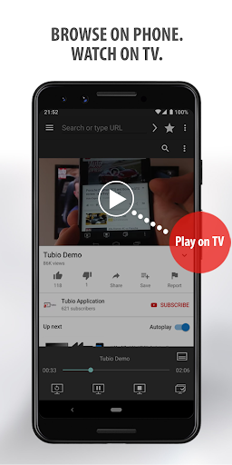 Tubio - Cast Web Videos to TV, Chromecast, Airplay screenshot 2