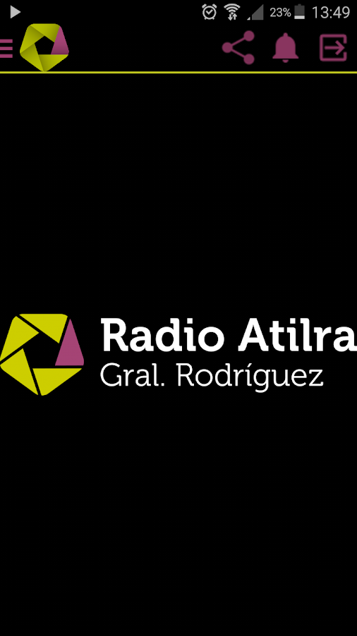 Radio Atilra- screenshot