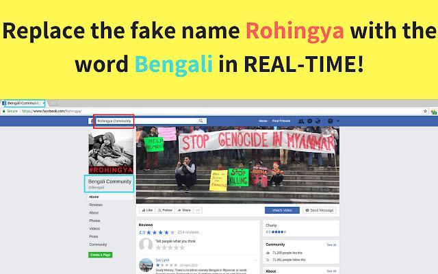 No Rohingya in Myanmar