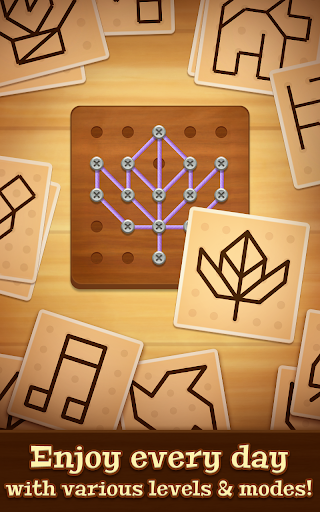 Line Puzzle: String Art screenshots 5