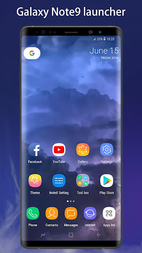 Note 9 Launcher - Galaxy Note8 | Note9 launcher UI 4.3 screenshots 1