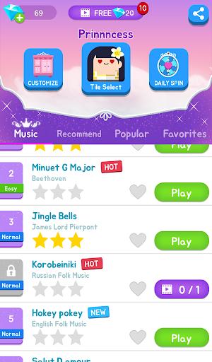 Magic Castle Piano Tiles:  Free Rhythm Music Games apkpoly screenshots 13
