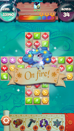 Unicorn Forest: Match 3 Puzzle