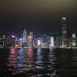 gorgeous Hong Kong Island skyline from the Kowloon side in Hong Kong, , Hong Kong SAR