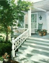 Photo: Painting of Belcher Fuller House