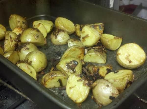 Onion Roasted Potatoes Recipe