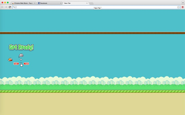 Flappy Bird New Tab