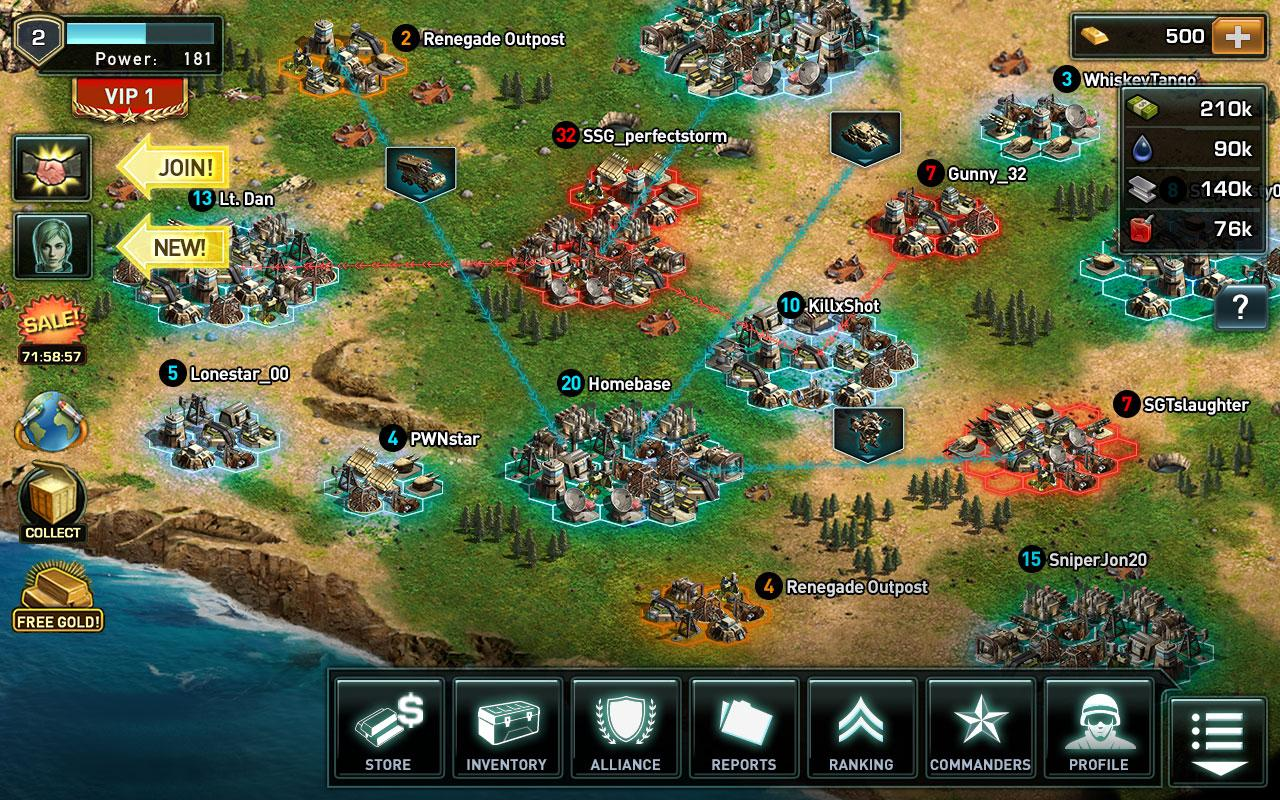 War of Nations: PvP Domination- screenshot