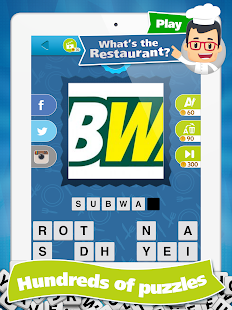 What's the Restaurant? Guess Restaurants Quiz Game- screenshot thumbnail