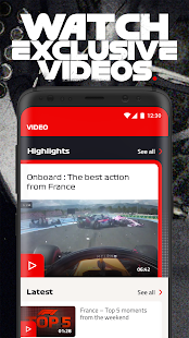 Official F1 ® App Screenshot