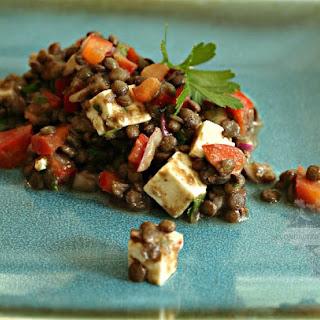 French Lentil and Feta Salad