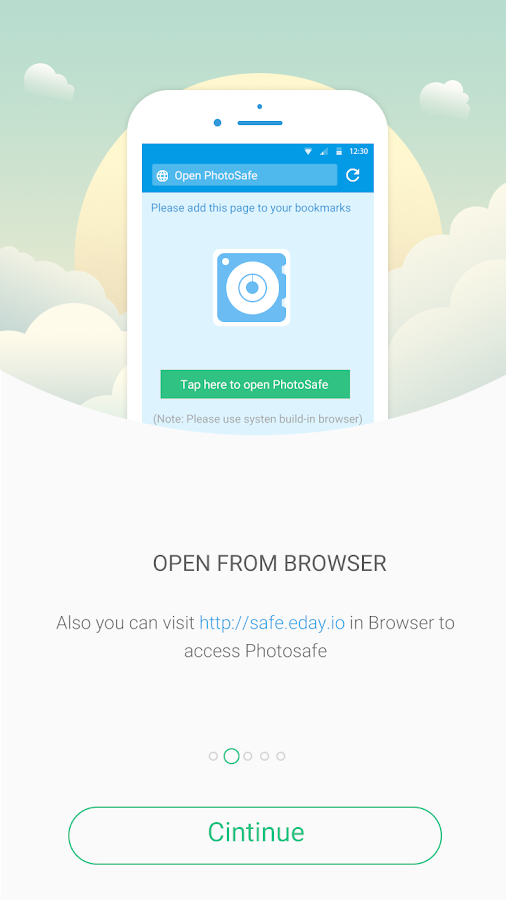Hide Pictures PhotoSafe Vault- screenshot