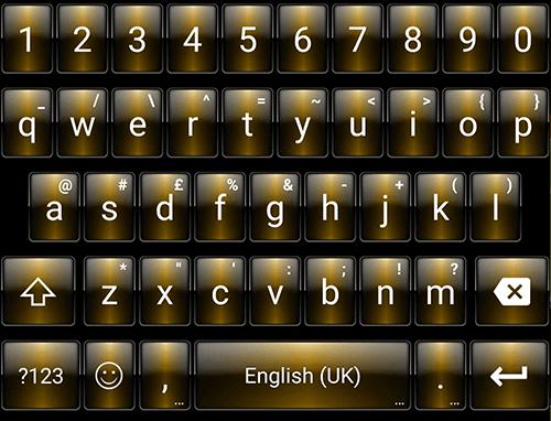 玩免費個人化APP|下載DuskGold Emoji キーボード app不用錢|硬是要APP