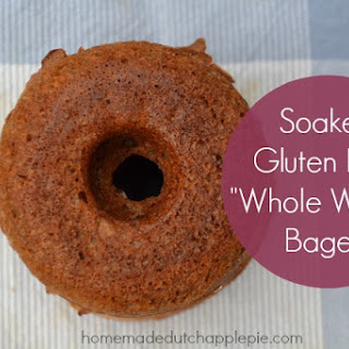"""Soaked Gluten Free """"Whole Wheat"""" Bagels"""