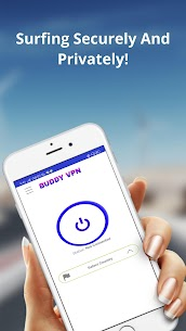 BUDDY VPN NETWORK IP PROXY CHANGE All Country(VPN) App Download For Android 3