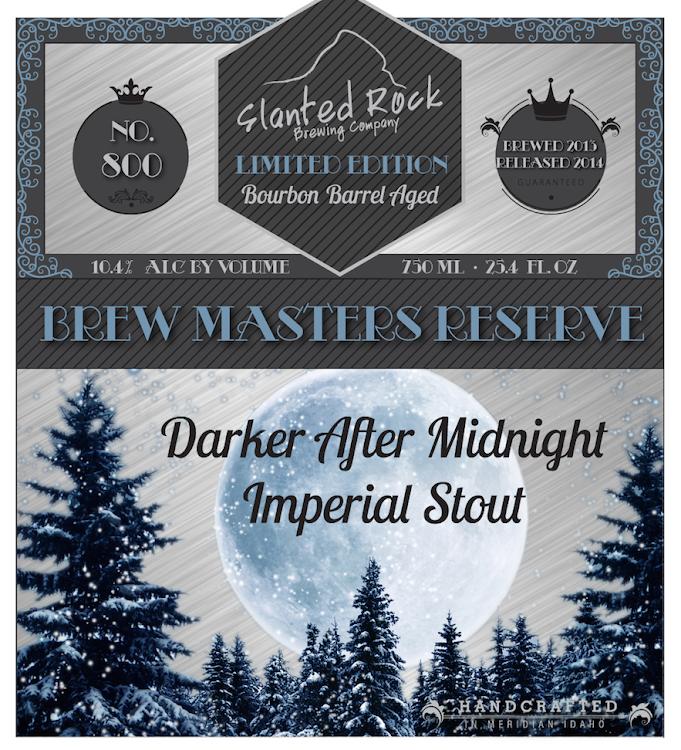Logo of Slanted Rock Darker After Midnight Barrel Aged