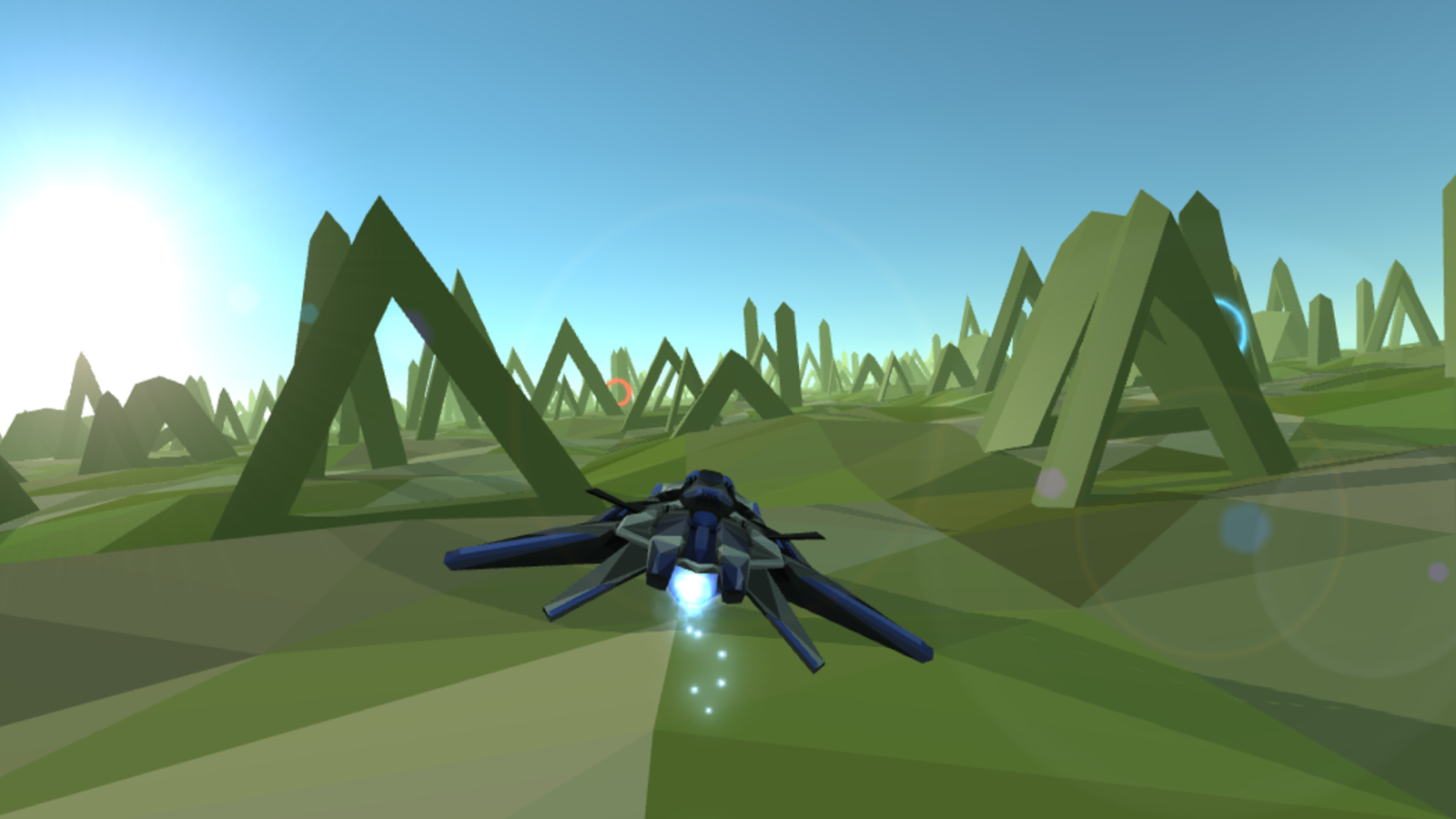 PolyRunner VR- screenshot