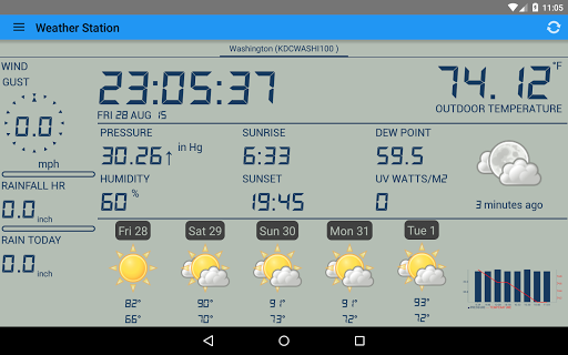 Weather Station screenshot 12