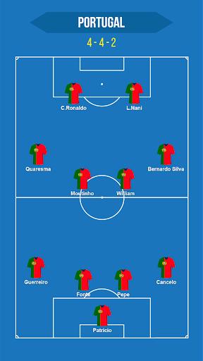 Football Squad Builder - Strategy, Tactic, Lineup 2.4.5 Screenshots 5