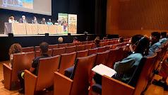 Desarrollo de las jornadas en el Auditorio de El Ejido.