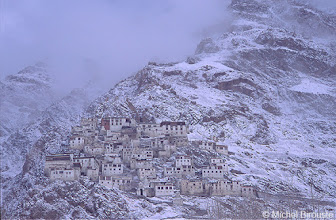 Photo: Karsha a le plus grand monastère du Zanskar