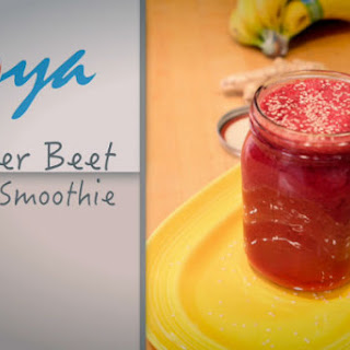 Anti-Inflammatory Ginger Beet Smoothie