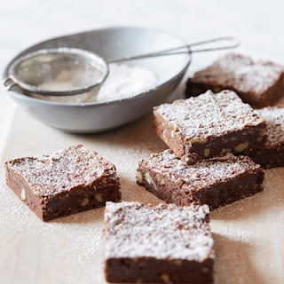 Chewy Cocoa Brownies.