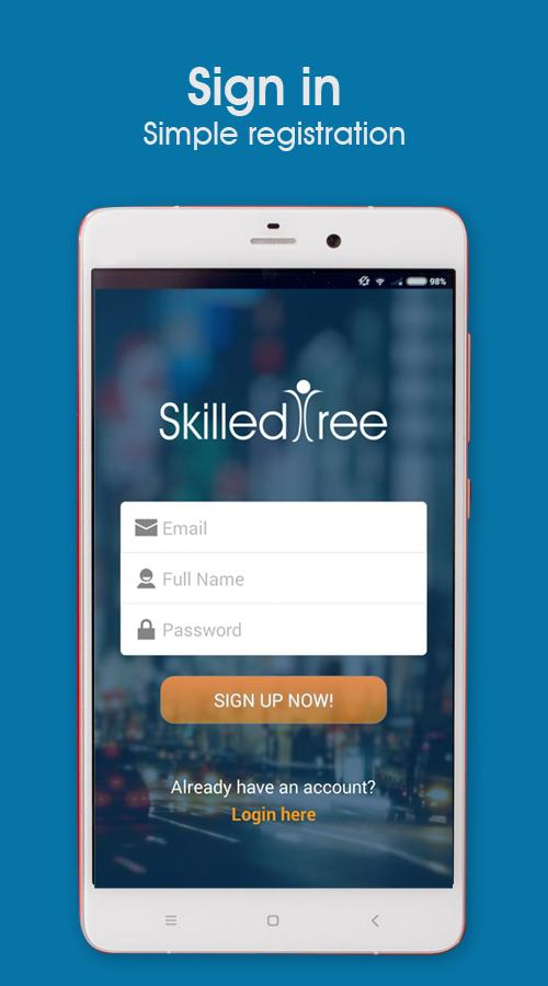 SkilledTree- screenshot