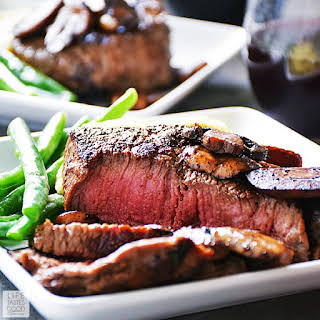 Pan Seared Sirloin Steak Dinner for Two.