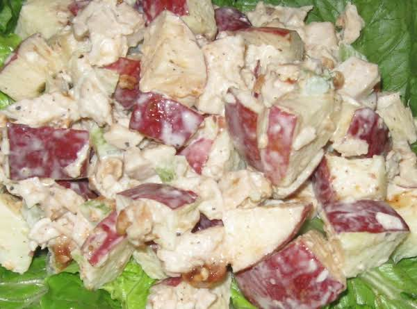 Crunchy, Sweet, And Cold Apples Make This A Great Summertime Salad!