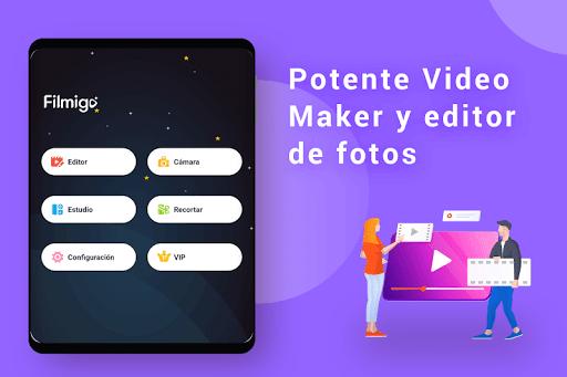 Creador de vídeo editor de vídeo con fotos ymúsica screenshot 11
