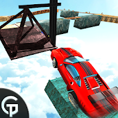 Car Stunt Driving Impossible Track 3D