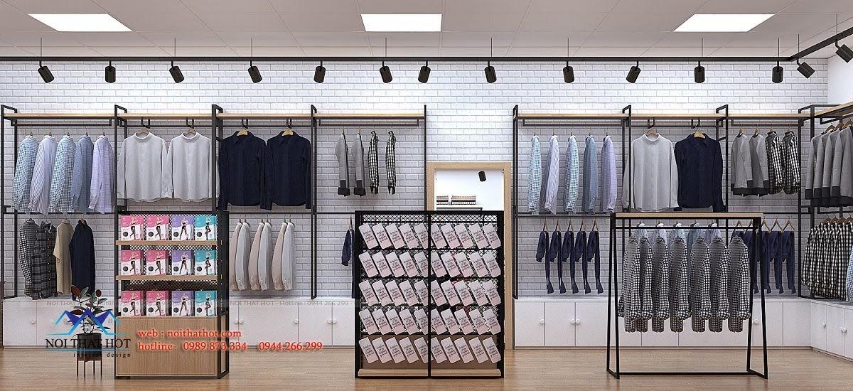 thiết kế shop thời trang uniqlo 7