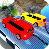 Chained Cars Thrilling Drive 3D