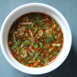 Thai Dried Chili Dipping Sauce.