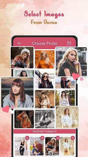 love photo frames - love locket photo editor screenshot 1