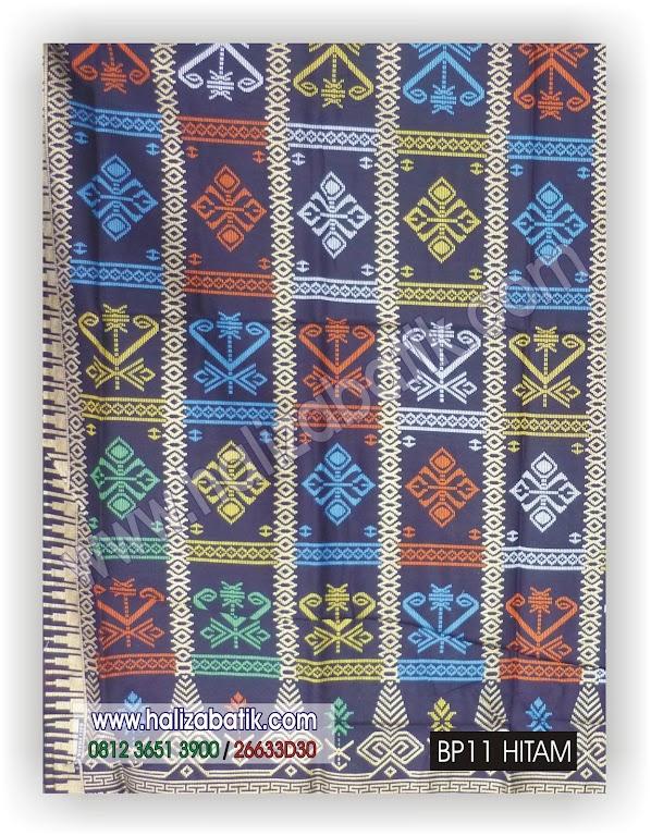 Model Batik Terbaru, Model Baju Terkini, Baju Batik, BP11 HITAM