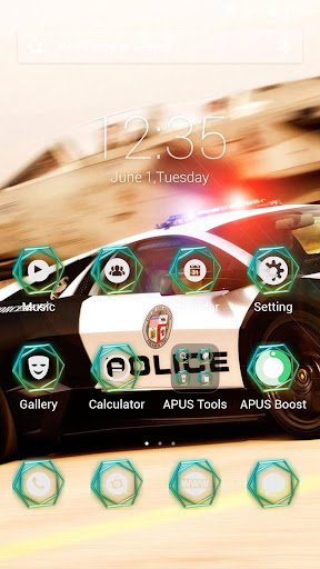 Breakthrough speed APUS theme