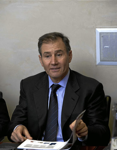 Mining extraction: Glencore CEO Ivan Glasenberg met Congolese President Joseph Kabila in March. Picture: MARTIN RHODES