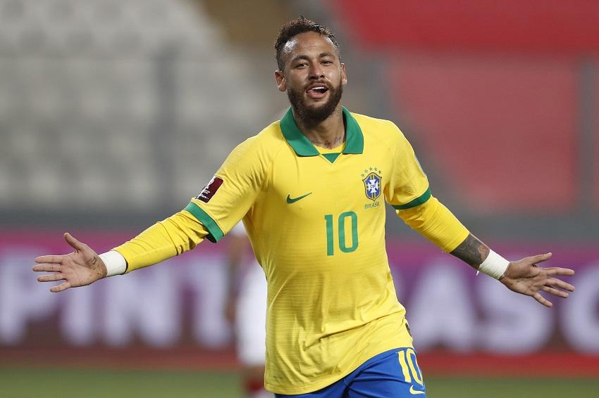 Blast from the past: Neymar the hat-trick hero as Brazil bulldoze Bafana 5-0