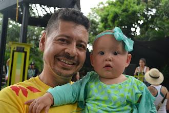 Photo: DJ Zdey y Mia poniendo a gozar a Medellín